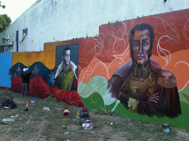 MURAL PLAZA SUCRE