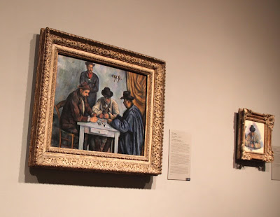 Cezanne Card Players at the Met
