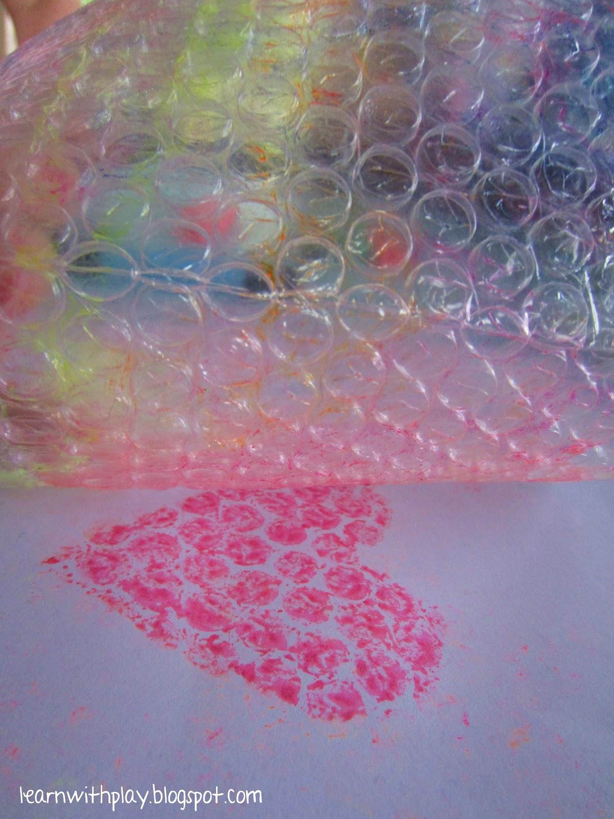 Поделки из упаковочной пленки с пузырьками