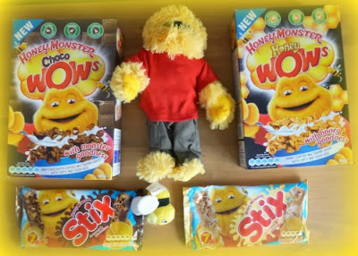 Honey Monster, Wow Cereal, Stix Bars, Yorkshire Blog, Mummy Blogging, Parent Blog,