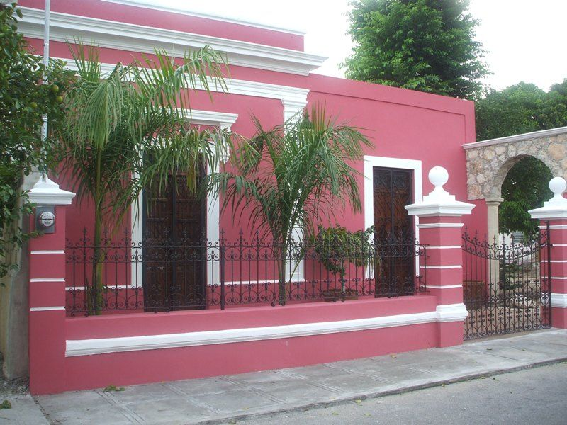 Colores para paredes de fachadas todo sobre fachadas for Pinturas de frentes de casas colores