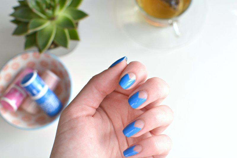 nails | negative space nail art | BURKATRON