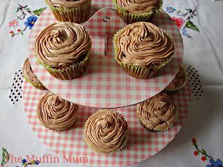 Cupcakes de fresa y chocolate