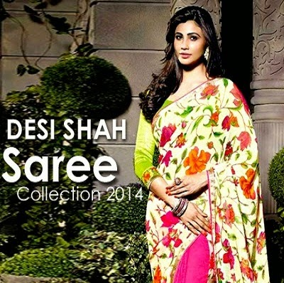 Indian Floral Printed Sarees