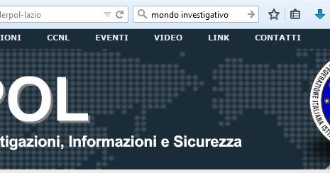 Elenco Investigatori associati Federpol Lazio