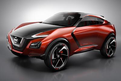 Nissan Gripz Concept (2015) Front Side