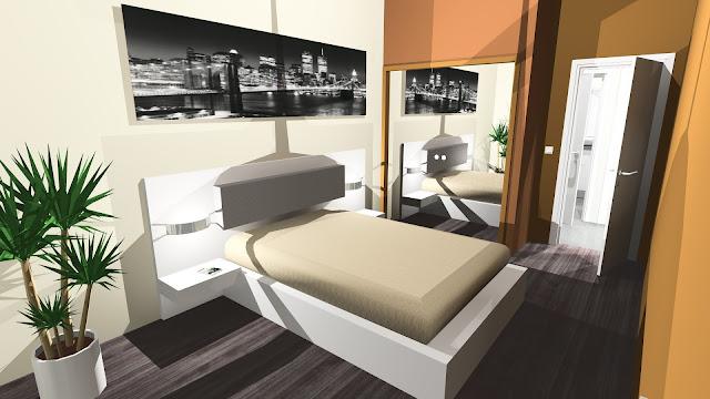 inspiration chambre chambre pour adulte dans les tons beiges. Black Bedroom Furniture Sets. Home Design Ideas