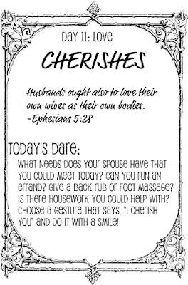 Squishy Dares Ideas : The Love Dare, Day 11