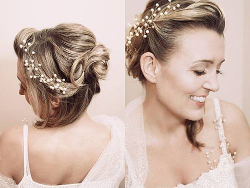 Modele coiffure mariage