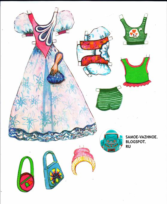 Коллекция бумажных кукол. Сайт для коллекционеров бумажных кукол