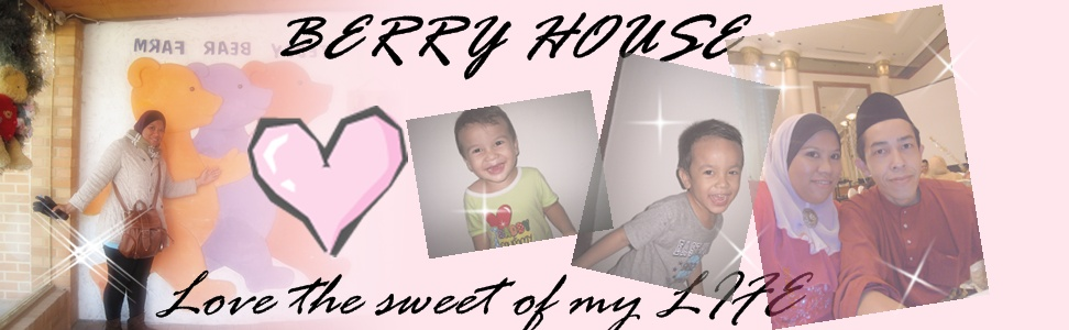 Love the sweet of my Life!!! -Berry's House-