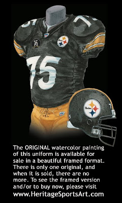 Pittsburgh Steelers 2007 uniform