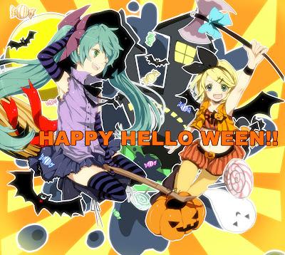 Vocaloid Halloween anime