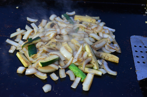 how to cook vegetables like japanese steakhouse, griddle vegetables