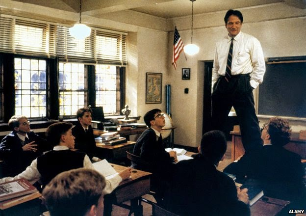 Dead Poets Society Education Quote Poster