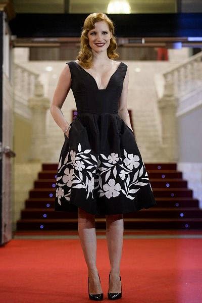 Jessica Chastain Festival de Cine de San Sebastian 2014