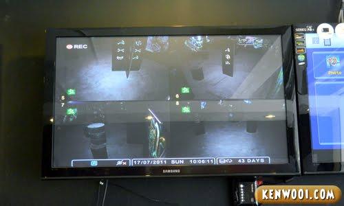 laser tag screen