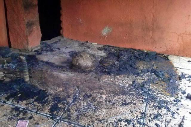 A casa da gremista de ato racista é incendiada em Porto Alegre