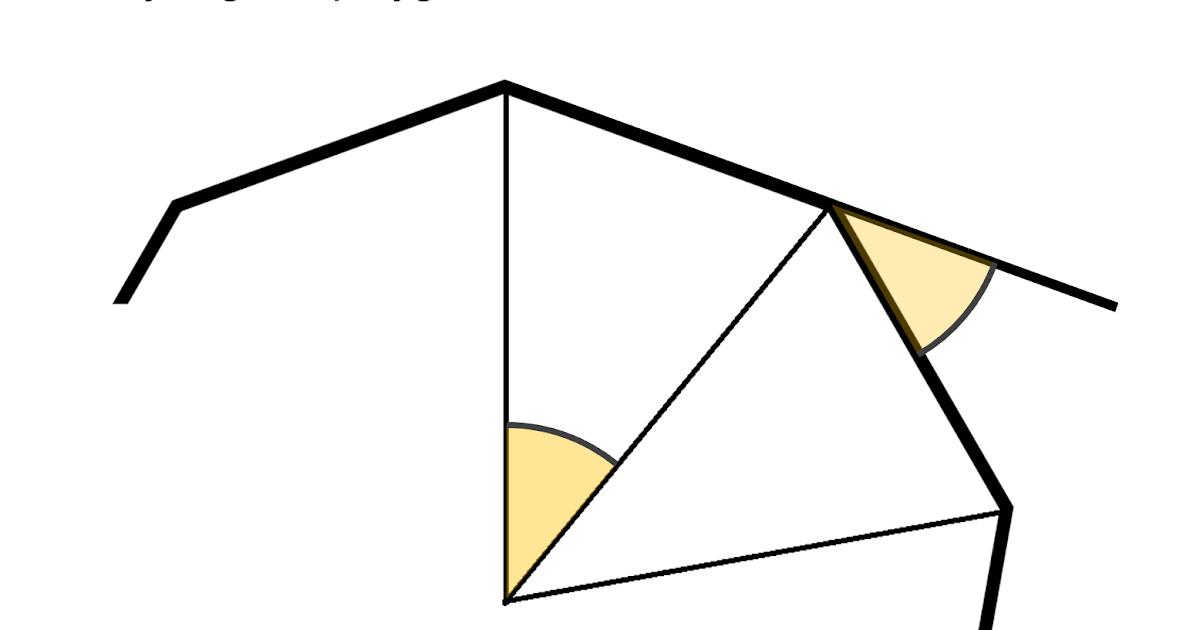 Median Don Steward Mathematics Teaching Exterior Angles And Star Polygons