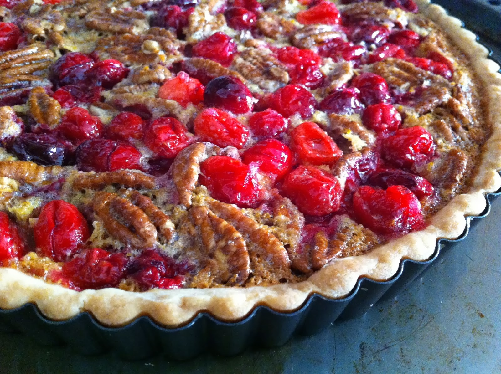 SugarScape: Cranberry Pecan Tart
