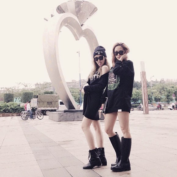 Miss A Jia & Fei in China