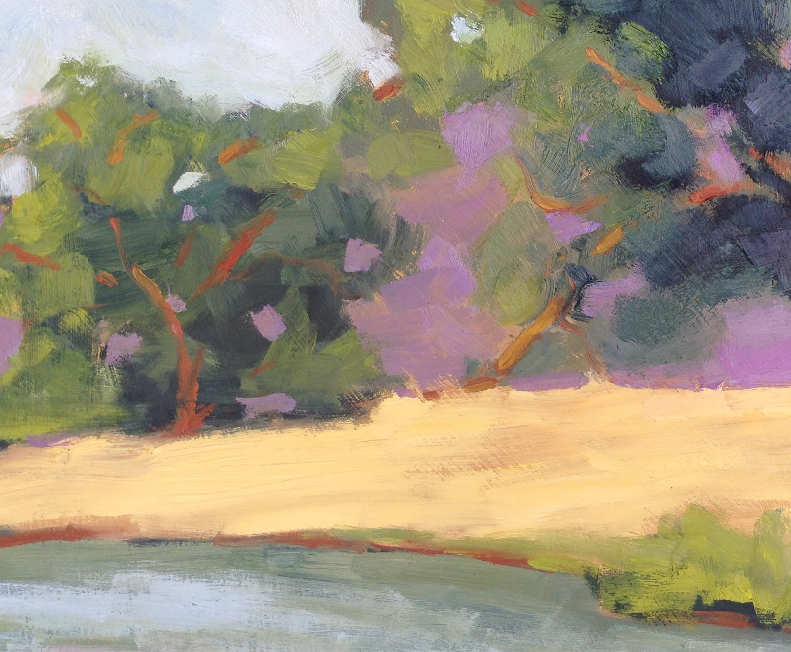 Lake Herman, Plein Air