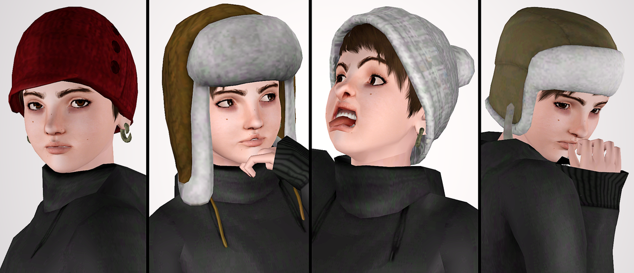 Empire sims 3 update 4 seasons hats by editsim