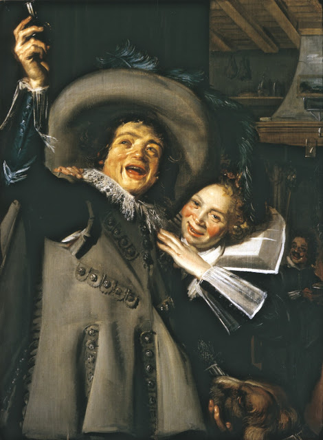 the ramp and his sweetheart,Frans Hals, Baroque Painting