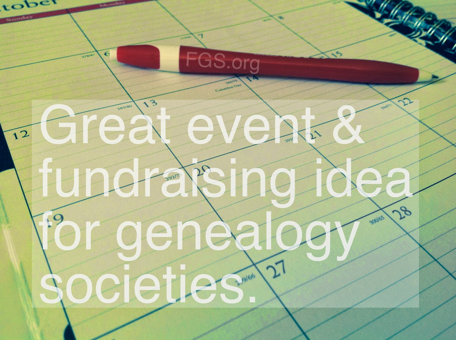 Who Do You Think You Are? Events for Genealogy Societies