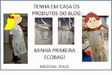 MINHA PRIMEIRA ECOBAG