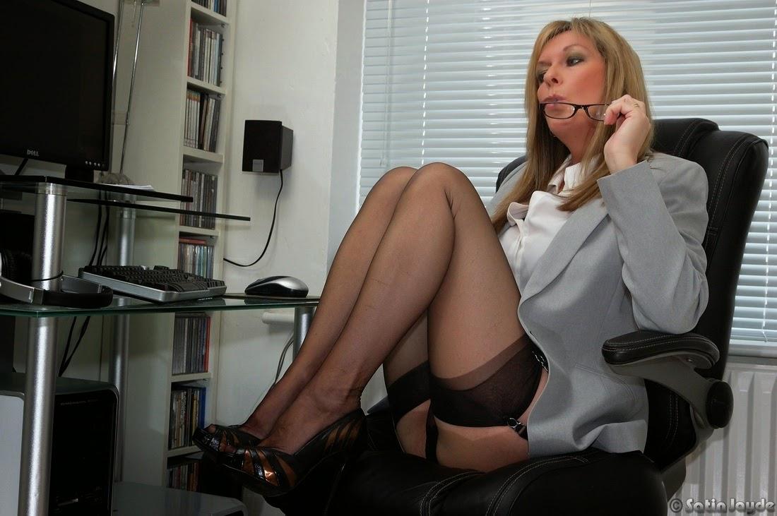 secrétaire en collant