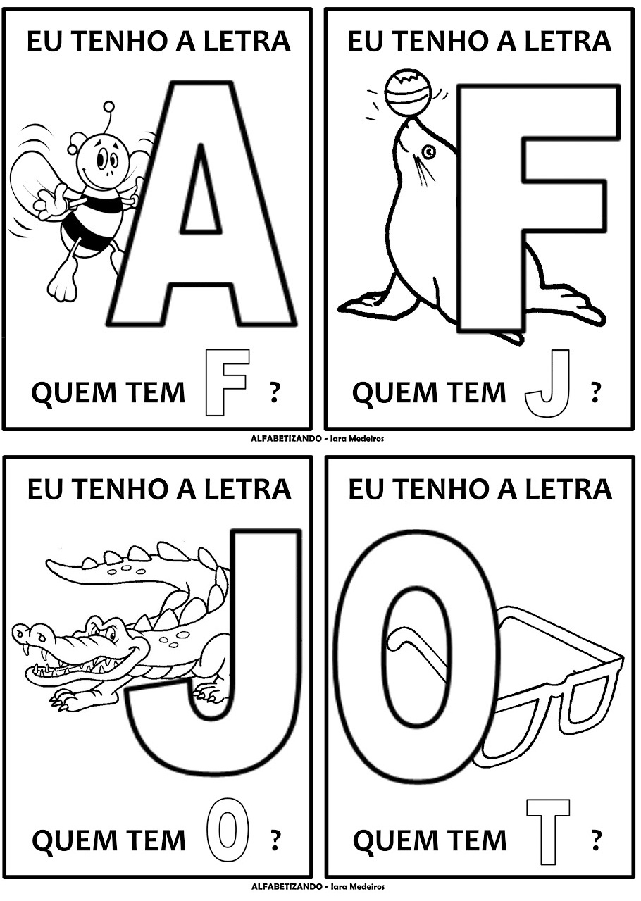 Top PARAÍSO DO EDUCANDO: Jogo do Alfabeto RC32