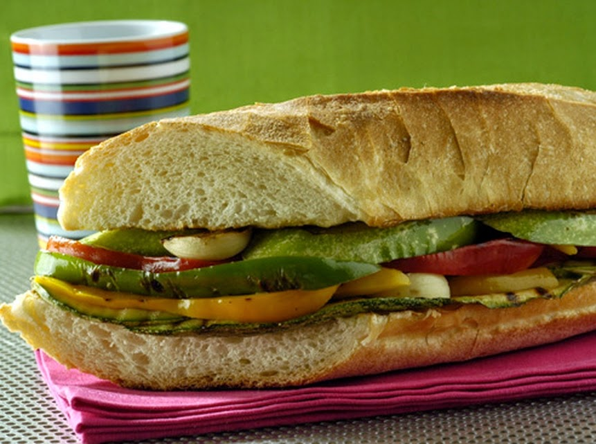 Sanduíche de Legumes (vegana)