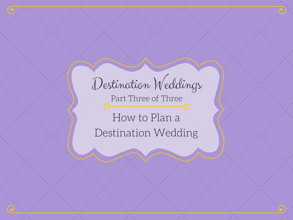 Tree limin 39 extreme destination weddings part 3 how to for Plan a destination wedding