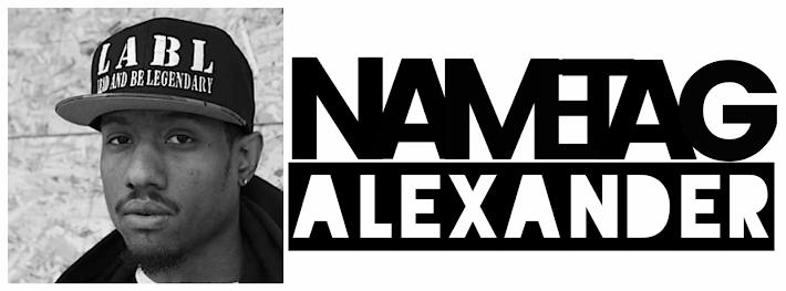 NAMETAG ALEXANDER