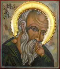 St John the Silent, my patron saint for 2015