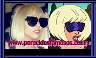 Lady Gaga con Leela In Disguise