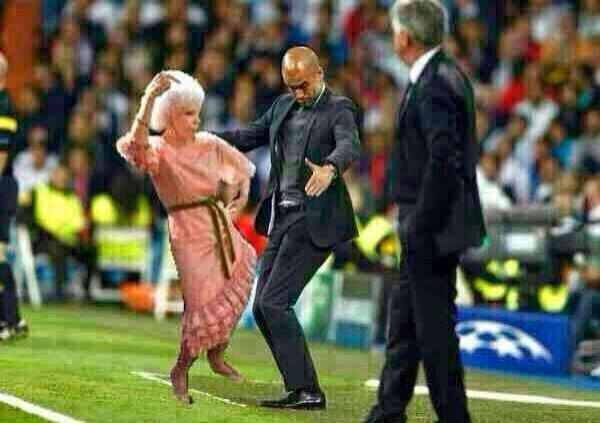 Pep Guardiola Bayern Munich Real Madrid Humor, cachondeo, bromas, chorradas, whatsapp, chistes, guasa y memes
