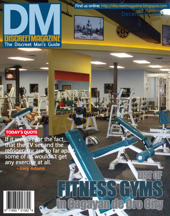 Fitness gyms in cagayan de oro city discreet magazine for Rosario fitness gimnasio