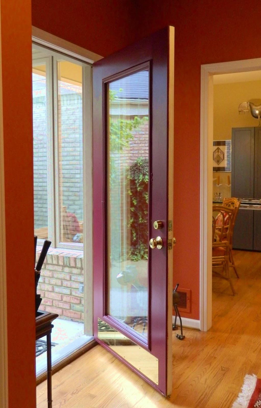 ... door modern residential front doors house front door open open front