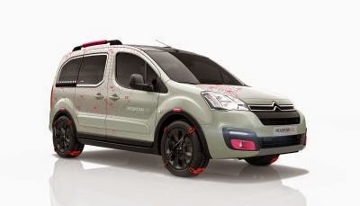 Conceptul Citroën Berlingo Mountain Vibe