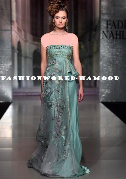 fadi nahle haute couture 2012