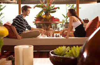 Edward and Bella chess