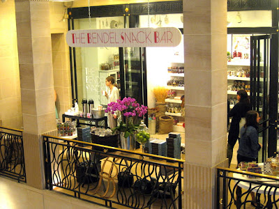 The Bendel Snack Bar at Henri Bendel in New York, NY - Photo by Taste As You Go