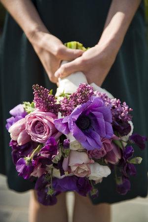 Plum Colored Bridal Shower Decorations