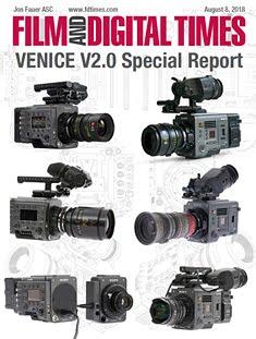 SONY VENICE V2.0 FDTIMES SPECIAL REPORT