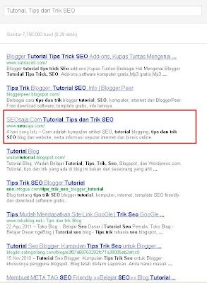 Cara Baru Cek Hasil Google SERP