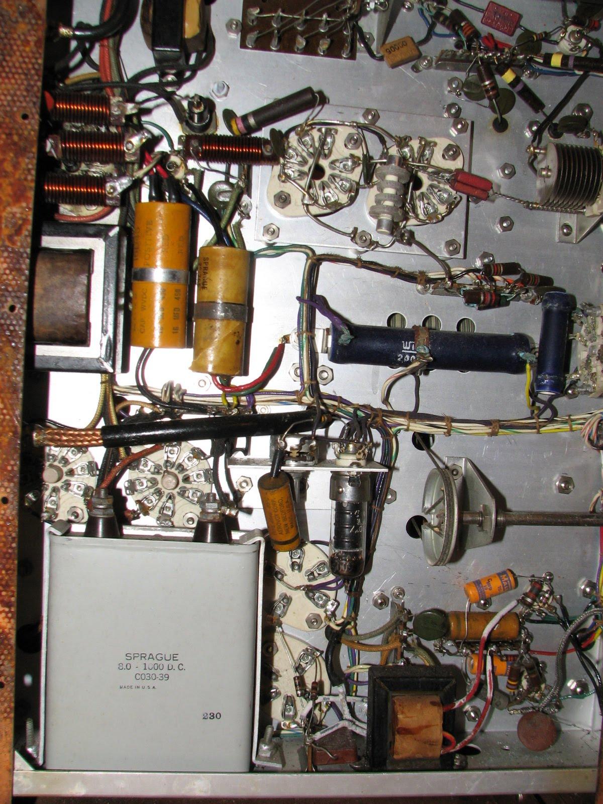 Amateur Radio Station Ka4cid  Restoration Of A Johnson