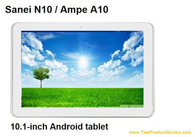 Sanei N10 10.1-inch Android tablet review