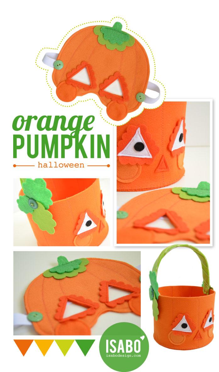 ISABO Halloween Pumpkin Mask